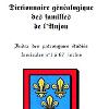 Dictionnaire Généalogique des Familles de l'Anjou